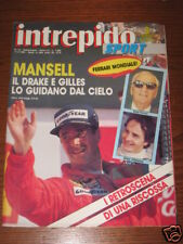 INTREPIDO SPORT 1989/15 MANSELL FERRARI REAL MADRID @@