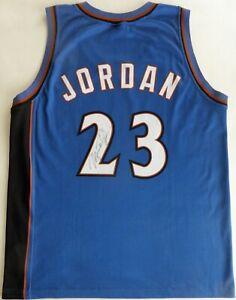Michael Jordan Hand Signed jersey Champion 23 Wizards Washington Vintage no COA