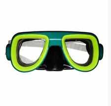 Swimming Goggles - Kids Recreation Dive Mask Blue Green