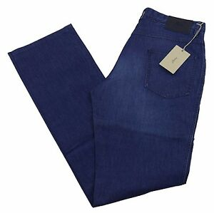 "Brioni Livigno Jeans Handmade in Italy BNWT Luxury Blue Denim Size 32"" £390"