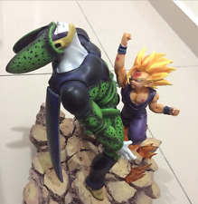 Dragon Ball Z VKH - SSJ Gohan vs Perfect Cell fight Resin statue High Quality