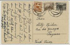 ÖSTERREICH 1934 AUSLANDSKARTE, HADERSDORF nach Schweiz