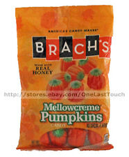 BRACH'S 4.2 oz Bag MELLOWCREME PUMPKINS Candy/Candies HALLOWEEN/FALL Exp. 5/18+