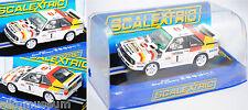 Scalextric c3500 audi Sport Quattro 23. Welsh rally Hannu Mikkola/arne hertz