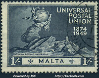 MALTE N° 251 AVEC OBLITERATION