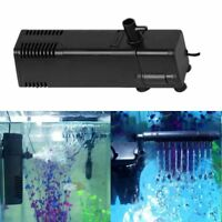 Useful Aquarium Filter Oxygen Submersible Water Pump Spray Fish Tank EU Plug