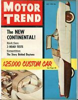 May 1955 Motor Trend Car Magazine - $25,000 Custom Car