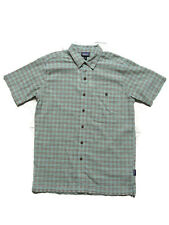 Patagonia Men's A/c Shirt Size XS Extra Small Short Sleeve Little Sur Green
