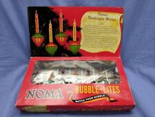 Noma Bubble Lites Vintage Christmas Decore Nostalgia Series Indoor Light Holiday