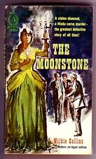 THE MOONSTONE (Wilkie Collins/1st thus US pb/Victorian/1st police procedural)