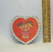 Vintage unused 1930s-1940s Keep This Under Your Hat Valentine's Day A-Meri-Card