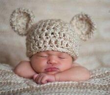 Fotoshooting Baby Mütze der kleine Bär 0-3 Mon NEU!