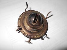 Antique Lamp Kerosene Oil Lamp Burner Brass Made in Hong Kong