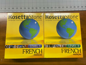 The Rosetta Stone - French Level 1 & 2 - PC, Mac - Personal Edition - (2004)