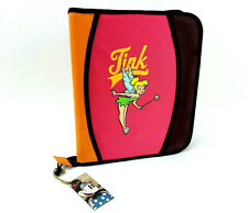 Disney Store Tinkerbell 3 Ring Binder Zipper Closure with Pencil Case