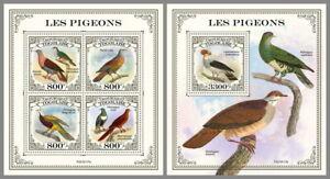 TOGO 2021 ** Tauben Doves Pigeons #15-117baB