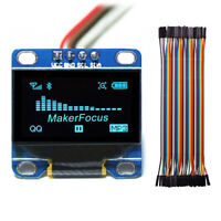 """0.96"""" I2c IIC Serial Oled LCD LED Blue Display Module +40Dupont Wire for Arduino"""