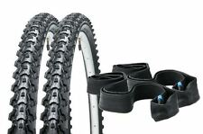 "2x CST Eiger 26"" X 1.95 MTB Mountain Bike Tyres With Schrader Inner Tubes"