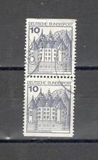 GERMANIA 762 Bx2 - FEDERALE 1977 CASTELLI - MAZZETTA  DI 15 - VEDI FOTO