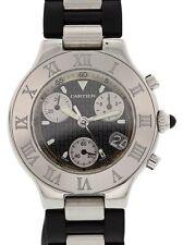 Cartier Chronoscaph 21 2424 Men's Watch