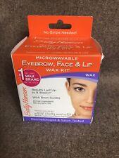 Sally Hanson Microwavable Eyebrow, Face And Lip Wax Kit