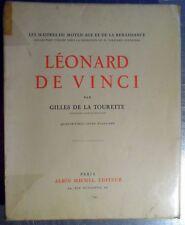 Leonard de Vinci 96 planches exemplaire spécial Robert Levy Albin Michel 1932