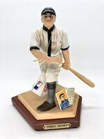 Honus Wagner Pittsburgh Pirates Sports Impression Figure COA ORIG BOX WAGNER COA