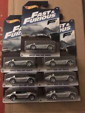 2017 Hot Wheels - Fast & Furious - Corvette Grand Sport Roadster Lot of 7 new