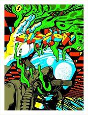 Pearl Jam 2018 Lisbon, PT Poster Print Eddie Vedder Artist Glo