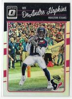 2016 Optic DeAndre Hopkins Silver Holo Prizm Refractor SP No. 41