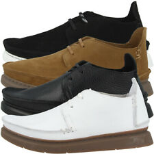 Clarks Seven Schuhe Herren Halbschuhe Freizeit Sneaker Schnürschuhe Mokkasins