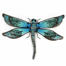 Metal Dragonfly Artwork Wall Decoration Garden Outdoor Home Decor Yard Statues