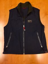 Vintage 90s Abercrombie & Fitch Reversible Fleece Vest bubble jacket af polo