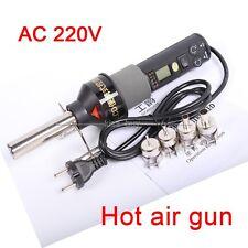 220V 450℃ 450W LCD Hot air gun Portable Soldering station ICs SMD for BGA Nozzle