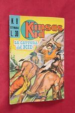 fumetto KANSAS KID EDITORIALE CORNO numero 8
