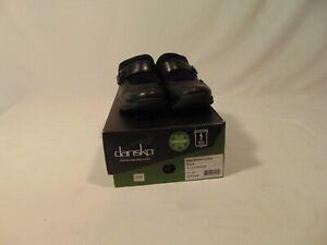 Dansko Kaya Women Black Mule Shoes Size US 9 EUR 39 Slip On Slides