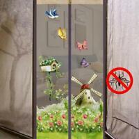 Türvorhang Moskitonetz Blumen Magnet Fliegengitter für Türen Insektenschutz