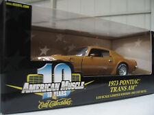 1:18 1973 Pontiac Trans Am Ertl - American Muscle - 10 years