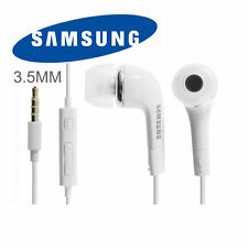 Original Samsung EHS64AVFWE (YL) 3.5mm Stereo Headset with Remote / Mic -White