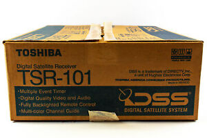 Toshiba Digital Satellite Receiver Model TSR-101 (DSS) | OPEN BOX