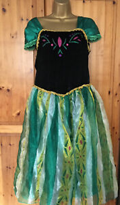 Ladies Anna From Frozen Fancy Dress Size 10-12