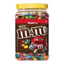 M&M's Milk Chocolate 62 oz Jar  Candy,PANTRY Size, M & M