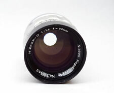 Nikon Nikkor 55mm O  f/1.2 CRT High Speed Industrial Lens