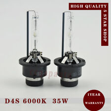 2x New D4S 6000k 35W Xenon HID Headlight Bulbs Lamp Replace for Philips or Osram