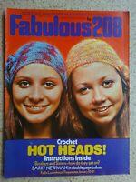 Fabulous 208 Magazine...29th.January 1972....VINTAGE COLLECTABLE MUSIC MAGAZINE.