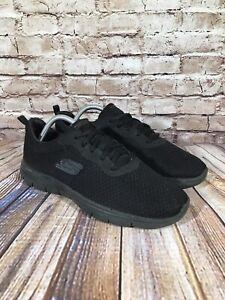 Skechers Dual-Lite Memory Foam Womens Running Shoes Black Size 11 Sneakers 12775