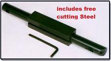 2Pce 8x8x125mm Carbide Tipped Boring Bar Set
