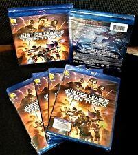 Dc Universe Justice League vs Teen Titans (Blu-ray + Dvd, 2016 + Digital Hd) New