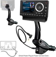 Car Mount Kit For Sirius Xm Satellite Radio Truck Dual Usb Portable Music Dock