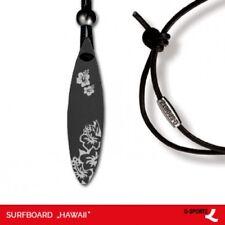 "Q-Sportz Surfboard ""Hawaii"" Schmuck Anhänger Edelstahl"